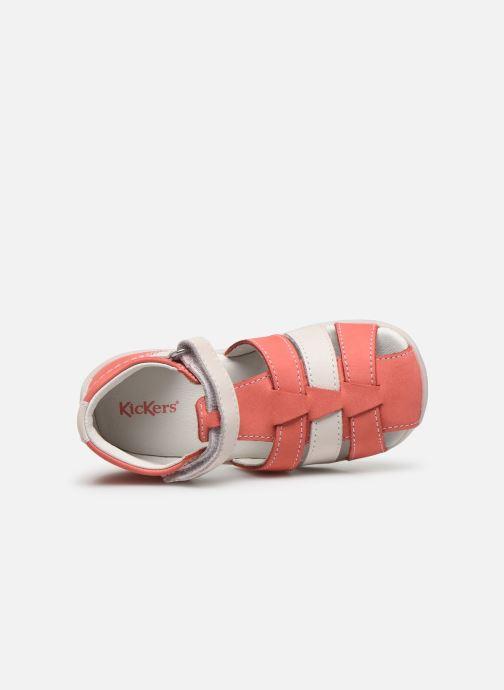 Sandali e scarpe aperte Kickers Bigflo-2 Rosa immagine sinistra