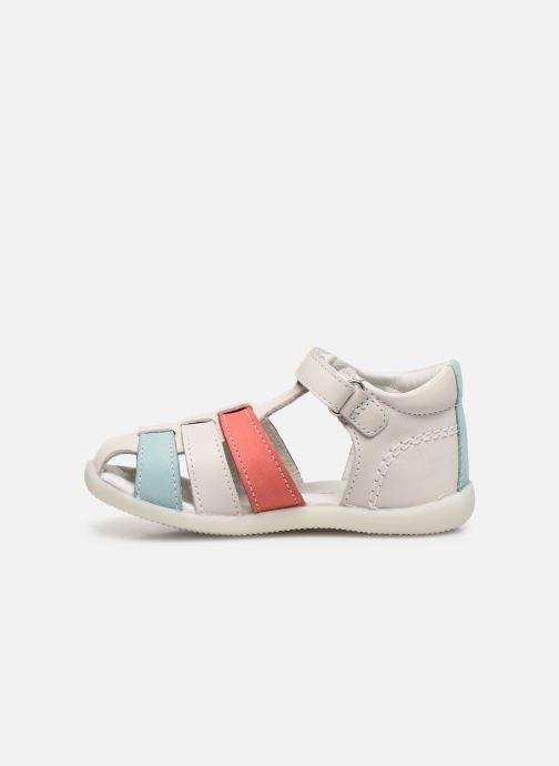 Sandales et nu-pieds Kickers Bigflo-2 Blanc vue face