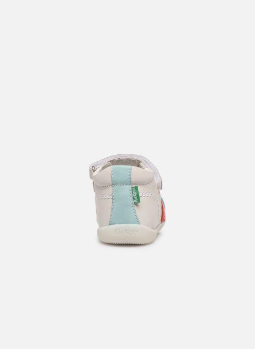 Sandales et nu-pieds Kickers Bigflo-2 Blanc vue droite