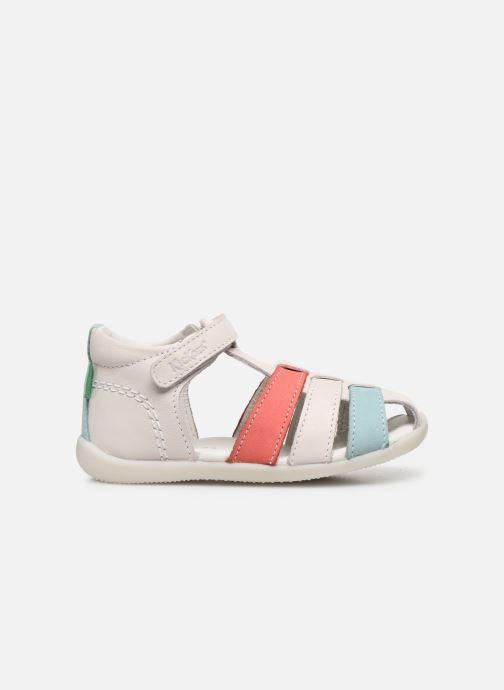 Sandales et nu-pieds Kickers Bigflo-2 Blanc vue derrière