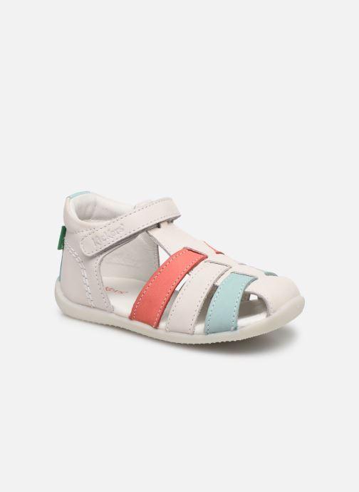 Sandales et nu-pieds Kickers Bigflo-2 Blanc vue détail/paire