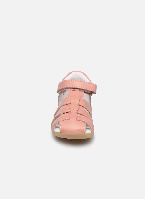 Sandalen Kickers Bigflo-2 rosa schuhe getragen