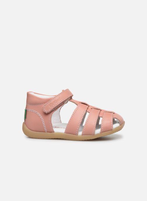 Sandales et nu-pieds Kickers Bigflo-2 Rose vue derrière