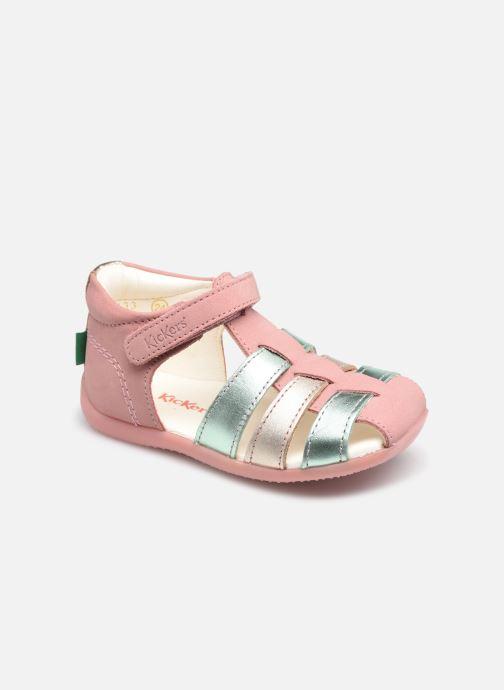Sandalen Kickers Bigflo-2 Roze detail