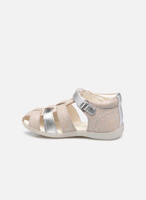 Sandalen Kickers Bigflo-2 silber ansicht von vorne