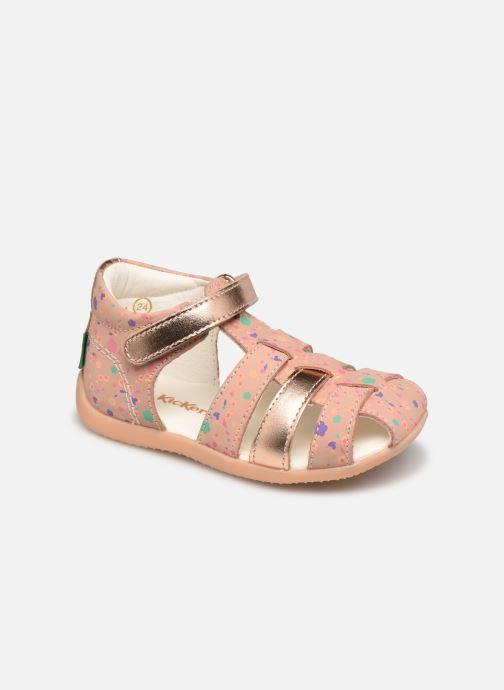 Sandalen Kickers Bigflo-2 rosa detaillierte ansicht/modell