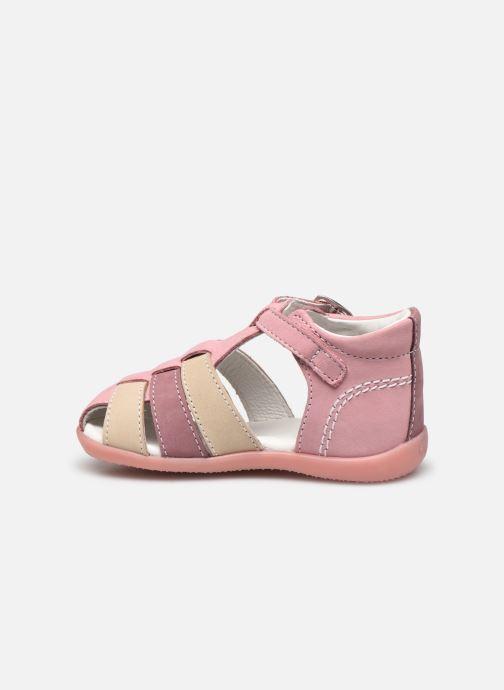 Sandali e scarpe aperte Kickers Bigfly-2 Rosa immagine frontale