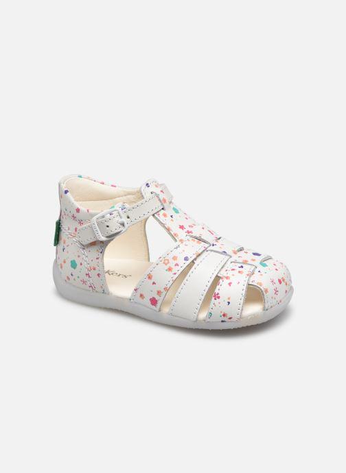 Sandales et nu-pieds Kickers Bigfly-2 Blanc vue détail/paire