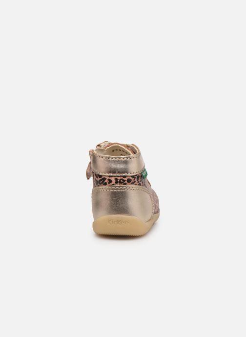 Stiefeletten & Boots Kickers Bonzip-2 beige ansicht von rechts