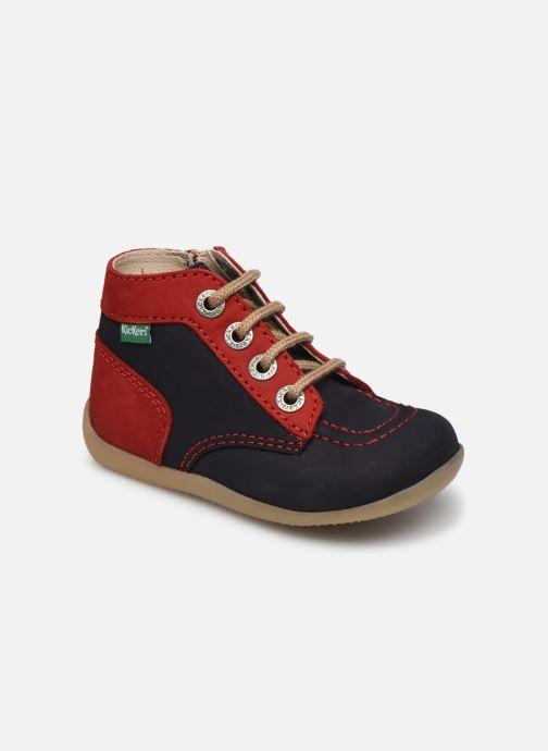 Bottines et boots Kickers Bonzip-2 Bleu vue détail/paire