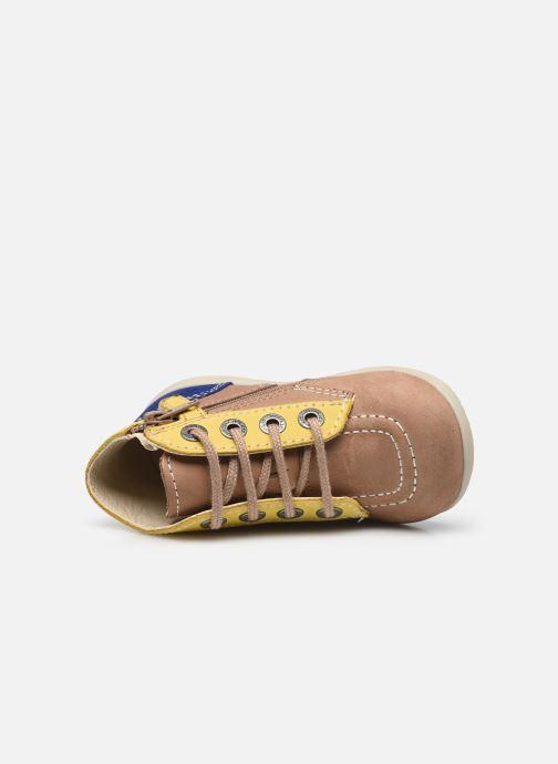 Stiefeletten & Boots Kickers Bonzip-2 beige ansicht von links