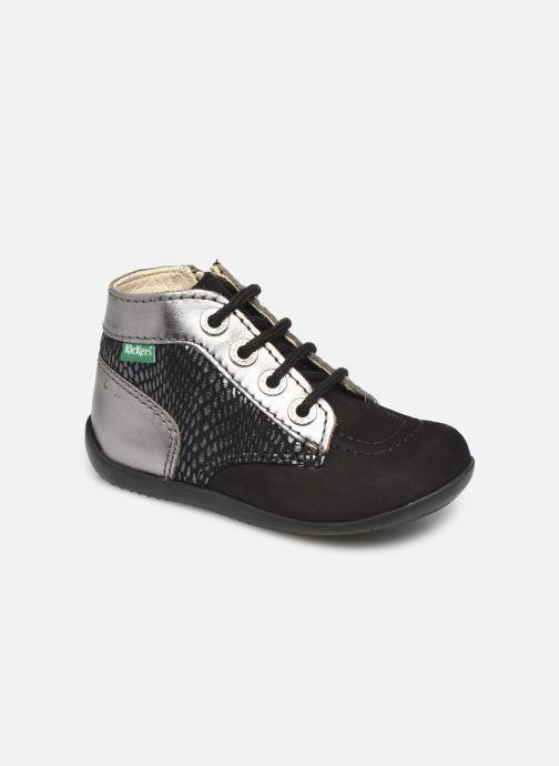 Bottines et boots Kickers Bonzip-2 Noir vue détail/paire