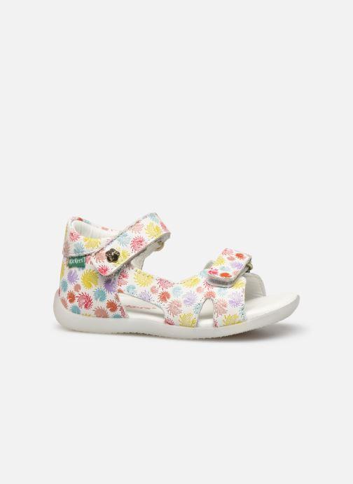 Sandales et nu-pieds Kickers Binsia-2 Multicolore vue derrière