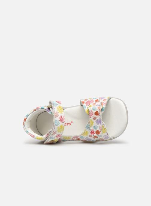 Sandales et nu-pieds Kickers Binsia-2 Multicolore vue gauche