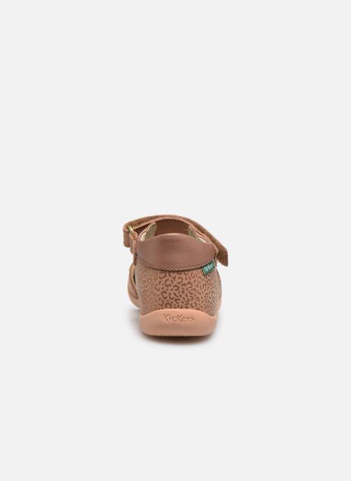Sandales et nu-pieds Kickers Binsia-2 Rose vue droite