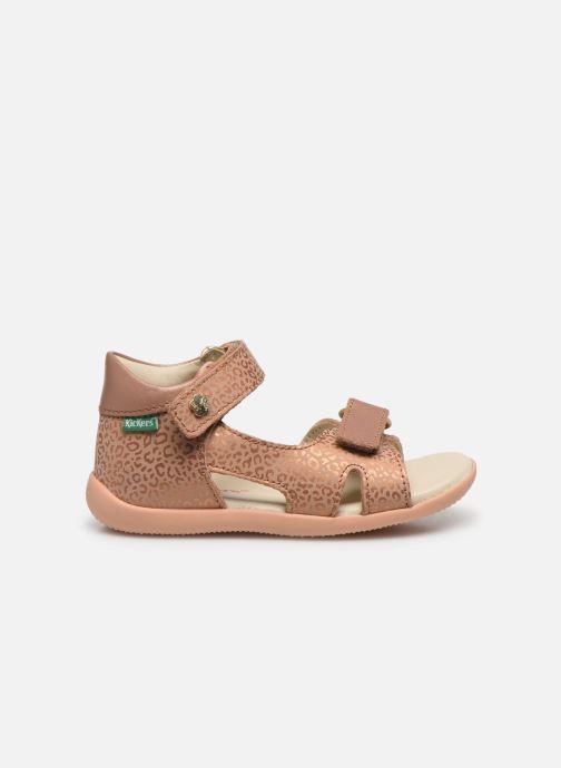 Sandales et nu-pieds Kickers Binsia-2 Rose vue derrière