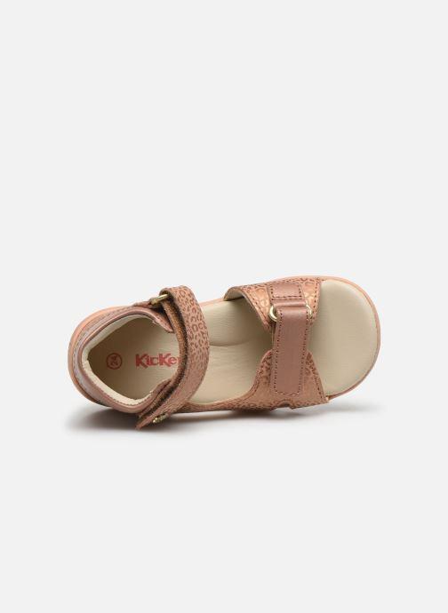 Sandales et nu-pieds Kickers Binsia-2 Rose vue gauche