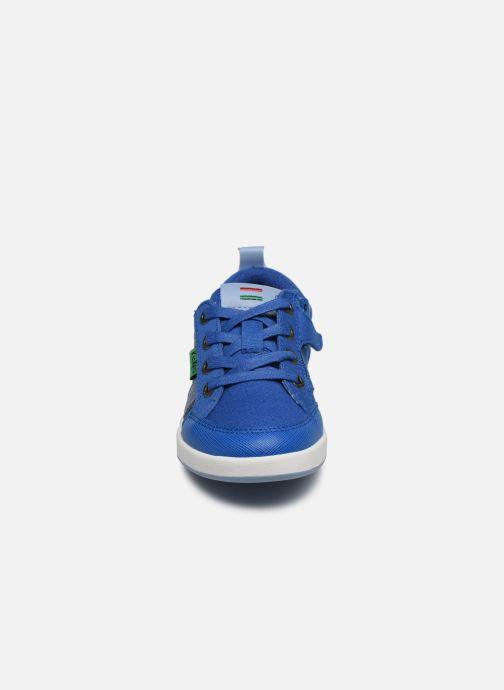 Baskets Kickers Tomiloo Bb Bleu vue portées chaussures