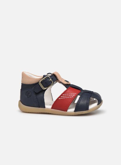 Sandalen Kickers Bogoz blau ansicht von hinten