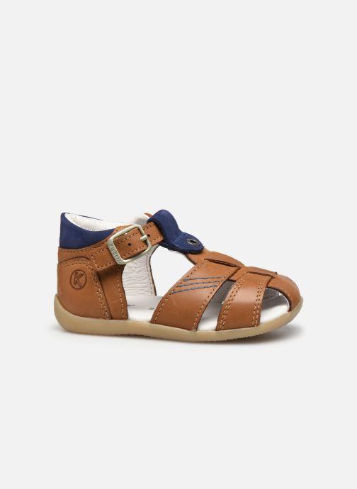 Sandales et nu-pieds Kickers Bogoz Marron vue derrière