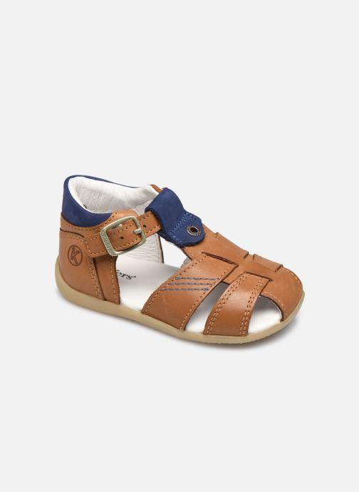 Sandales et nu-pieds Kickers Bogoz Marron vue détail/paire