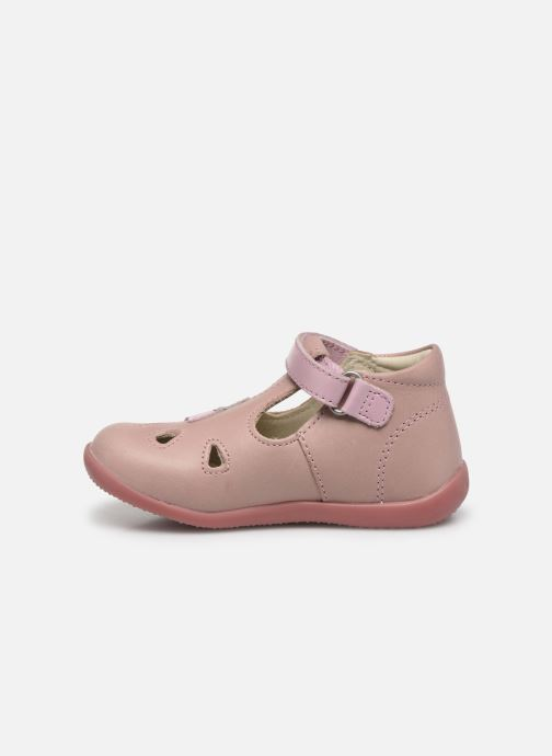 Ballerines Kickers Blupinky Rose vue face