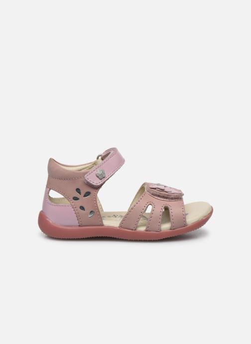 Sandales et nu-pieds Kickers Bichetta Rose vue derrière