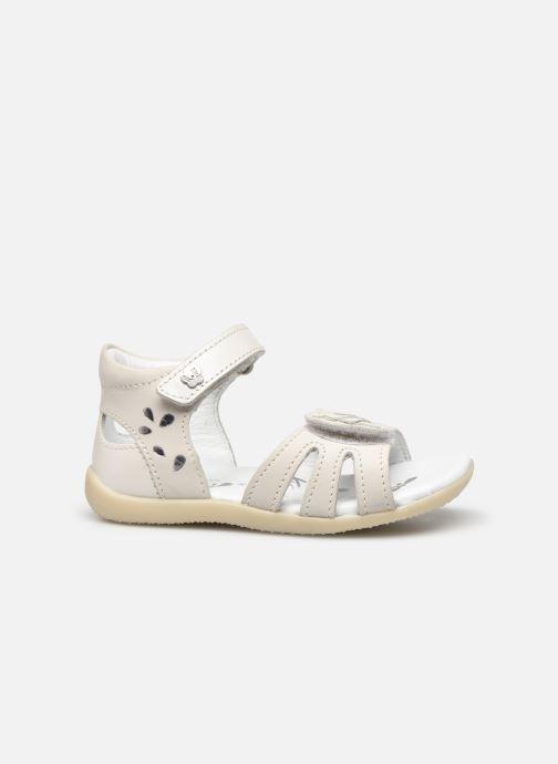 Sandales et nu-pieds Kickers Bichetta Blanc vue derrière