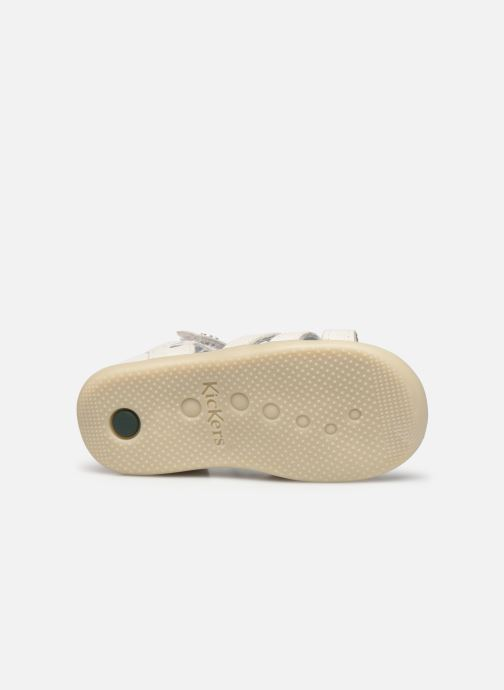 Sandali e scarpe aperte Kickers Bichetta Bianco immagine dall'alto