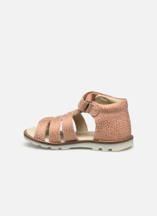 Sandales et nu-pieds Kickers Noopi Rose vue face