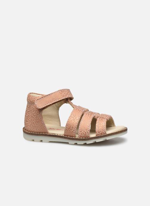 Sandales et nu-pieds Kickers Noopi Rose vue derrière