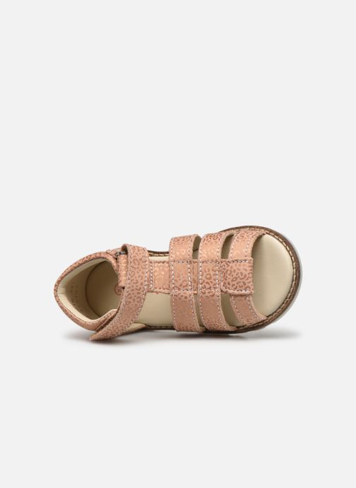 Sandales et nu-pieds Kickers Noopi Rose vue gauche