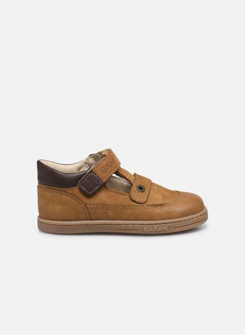 Chaussures à lacets Kickers Tactack Marron vue derrière