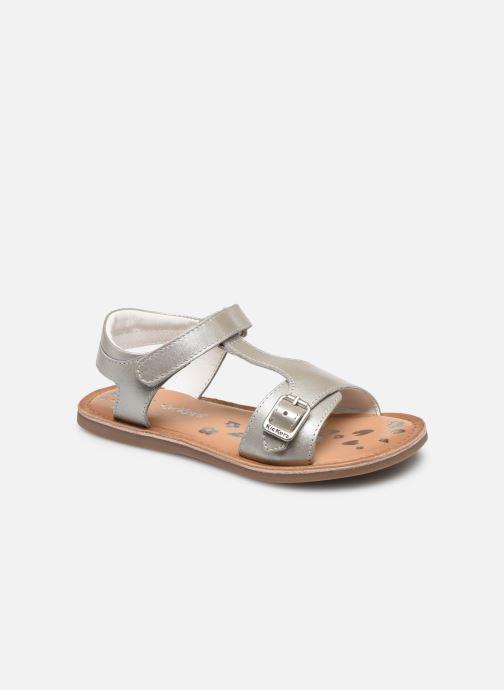 Sandales et nu-pieds Kickers Diazz Argent vue détail/paire