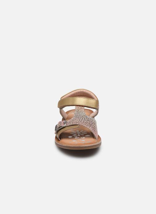 Sandales et nu-pieds Kickers Diazz Multicolore vue portées chaussures