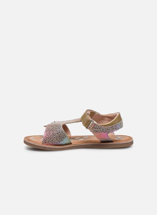 Sandales et nu-pieds Kickers Diazz Multicolore vue face