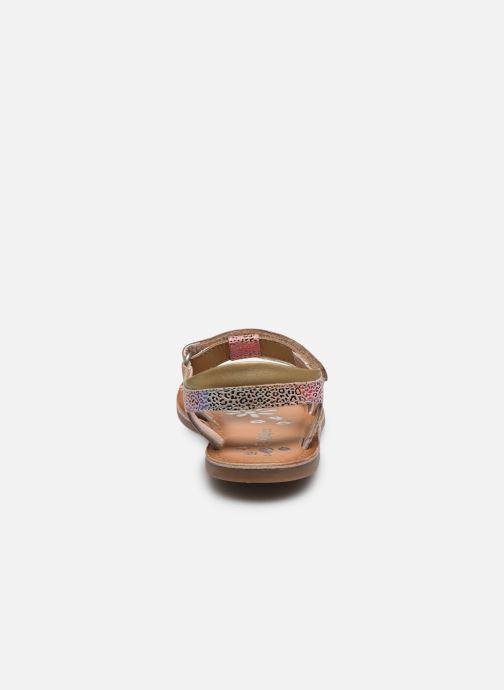 Sandales et nu-pieds Kickers Diazz Multicolore vue droite