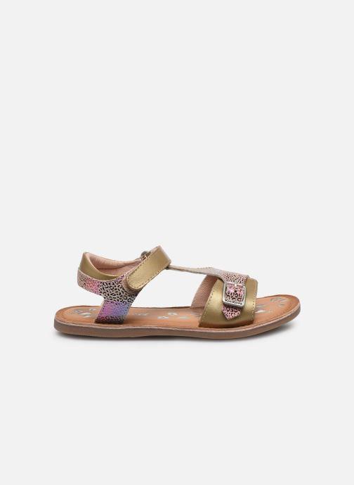 Sandales et nu-pieds Kickers Diazz Multicolore vue derrière