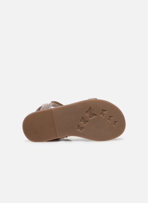 Sandales et nu-pieds Kickers Diazz Multicolore vue haut