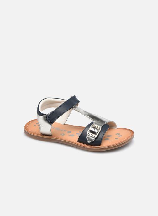Sandalen Kickers Diazz silber detaillierte ansicht/modell