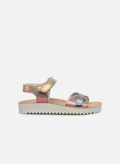 Sandalen Kickers Odyssa Multicolor achterkant