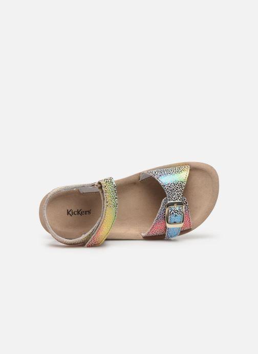 Sandali e scarpe aperte Kickers Odyssa Multicolore immagine sinistra