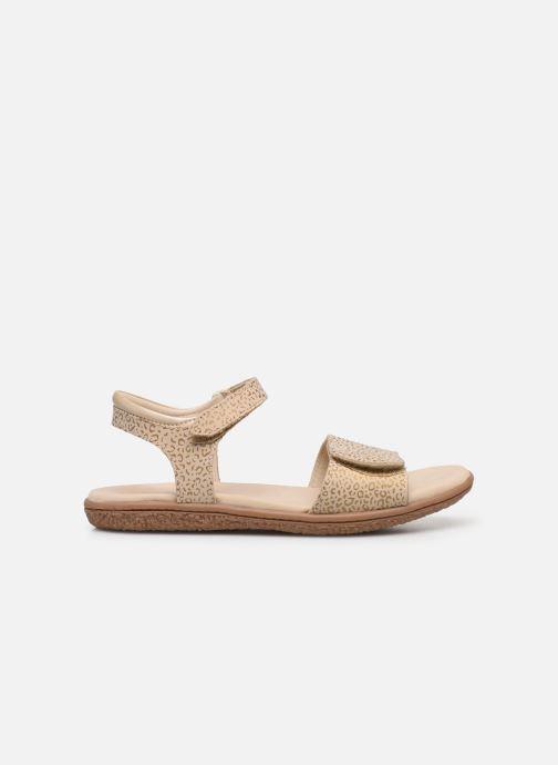 Sandalen Kickers Vepiuma Beige achterkant