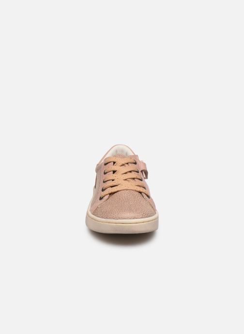 Baskets Kickers Lykool Rose vue portées chaussures