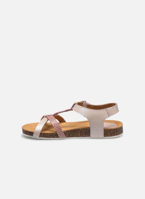 Sandales et nu-pieds Kickers Bodery Rose vue face