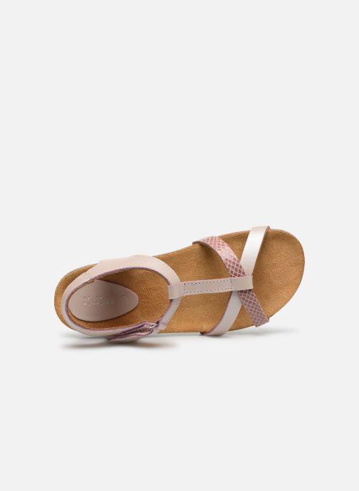 Sandales et nu-pieds Kickers Bodery Rose vue gauche