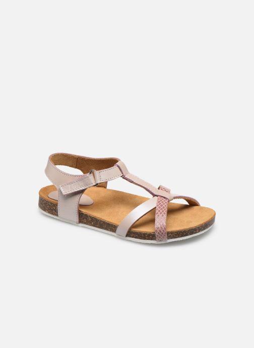Sandales et nu-pieds Kickers Bodery Rose vue détail/paire
