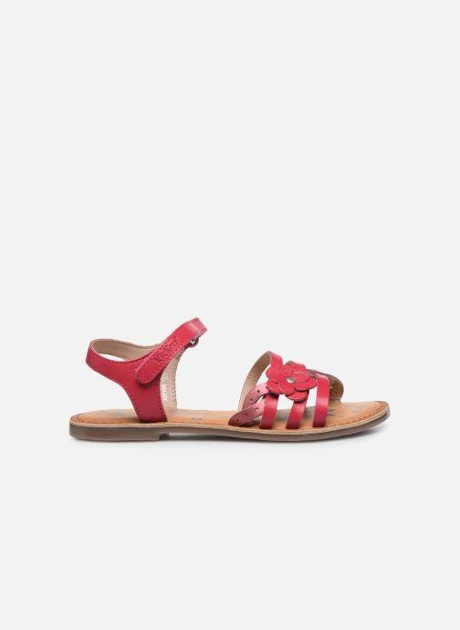Sandales et nu-pieds Kickers Dianni Rose vue derrière