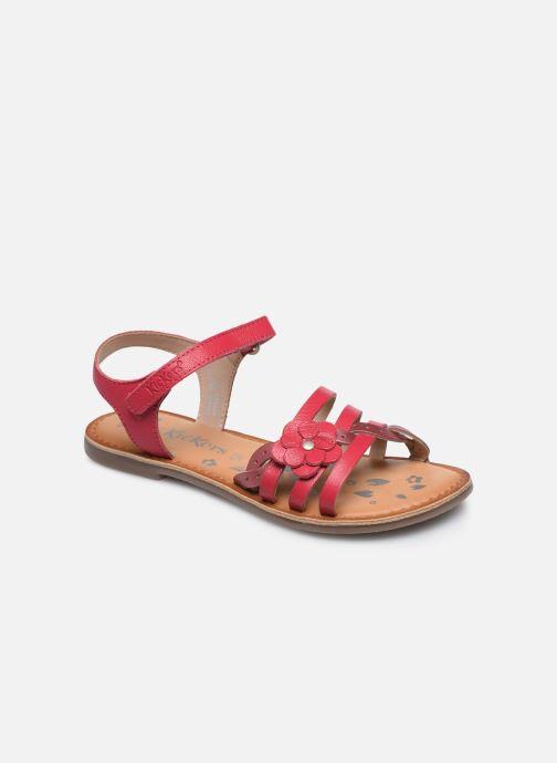 Sandales et nu-pieds Kickers Dianni Rose vue détail/paire
