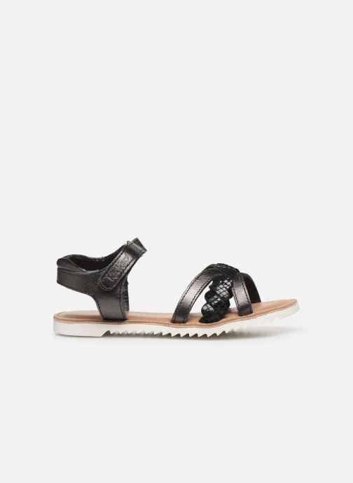 Sandales et nu-pieds Kickers Sharkky Noir vue derrière